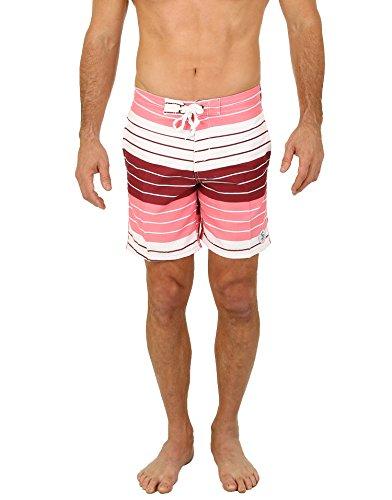 Uzzi Men's Belize Board Shorts Pink XL