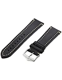 Hirsch 109002-50-22 22 -mm Genuine Calfskin Watch Strap