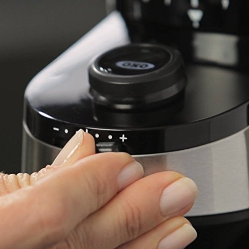 OXO Good Grips Conical Burr Grinder with Intelligent Dosing Scale (with 4oz Silver Canyon Coffee) by OXO (Image #4)