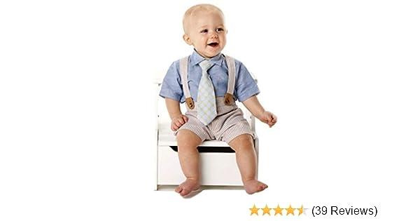 6e5b96e4a Amazon.com  Mud Pie Baby Boy 3-Piece Seersucker Set  Clothing