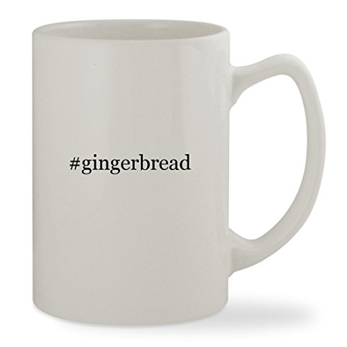 Ginger Snaps Movie Costume - #gingerbread - 14oz Hashtag White Statesman Sturdy Ceramic Coffee Cup Mug