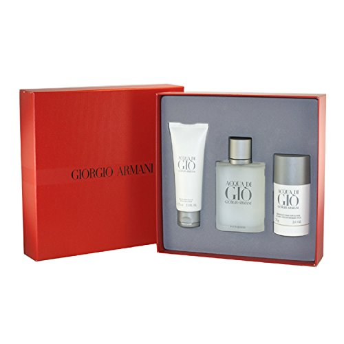 Giorgio Armani Acqua Di Gio 3 Piece Gift Set For Men ()