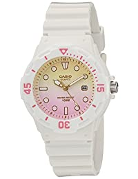 Casio Women's LRW-200H-4E2VCR Dive Series Analog Display Quartz White Watch
