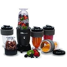 MaxiMatic EPB-1800 Elite Cuisine 300-Watt 17-Piece Personal Drink Blender - BPA Free, Black