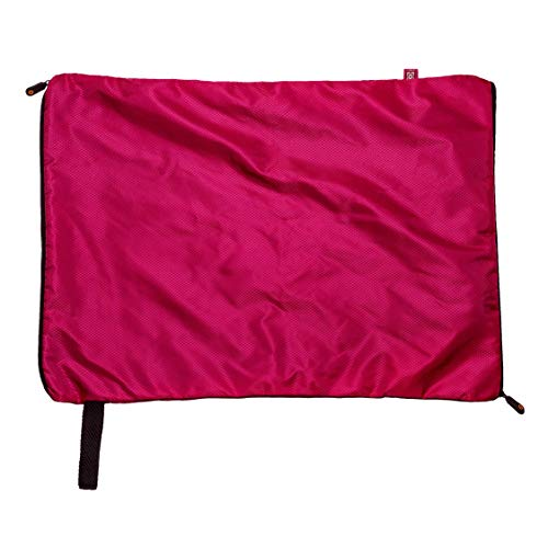 - STNKY Washable Sports Bag Heavy Duty for Carrying and Washing Gym Clothes, Shoes, Assorted Laundry (Pink, Large)