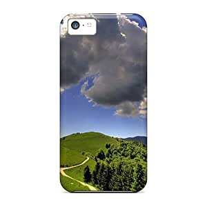 Rye16536VExK Anti-scratch Cases Covers Favorcase Protective Cloud On A Sunny Day Cases For Iphone 5c