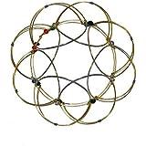 Golden Mandala Lotus Flower Flexible Sphere Office Desk Fidget Toy Anxiety and Stress Relief Intellectual Puzzle Bracelet