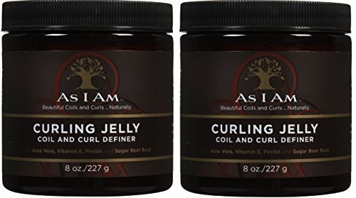 As I Am Curling Jelly, 8 Ounce (2 Pack)