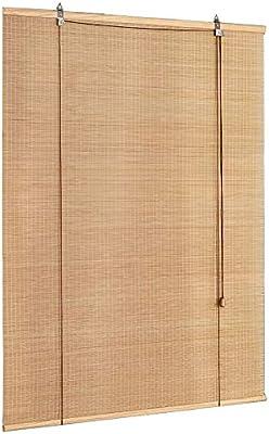 LXLA - Persianas de Ventana de Madera/Cortinas de Rodillo de bambú ...