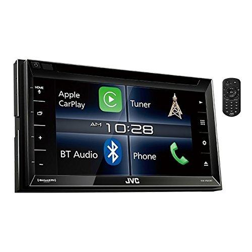 JVC KW-V820BT 6.8-Inch CarPlay Receiver Double DIN BT In-Dash Stereo with XM, iDataLink Maestro, Dual Zone