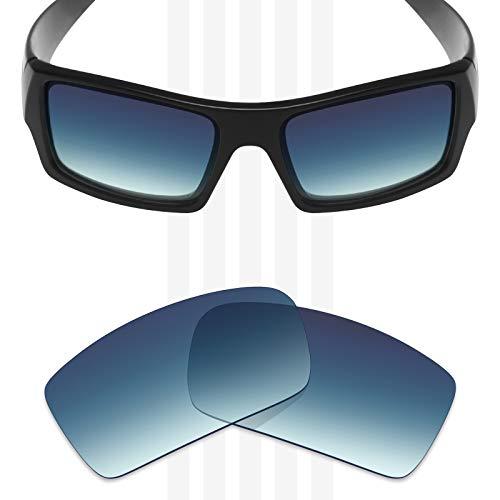 Mryok Polarized Replacement Lenses for Oakley Gascan - Blue Gradient - Lenses Gradient Blue Dark