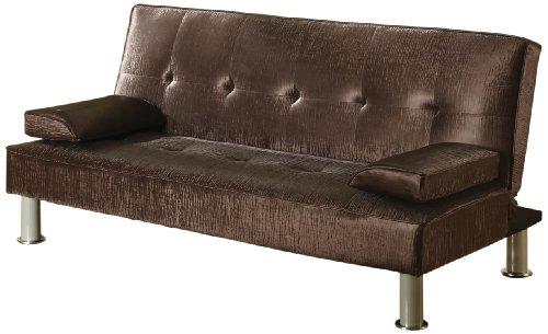 ACME 57069 Korb Adjustable Sofa, Chocolate PU
