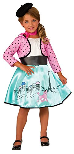 Rubie's Costume Petite Parisienne Deluxe Child Costume, Medium -