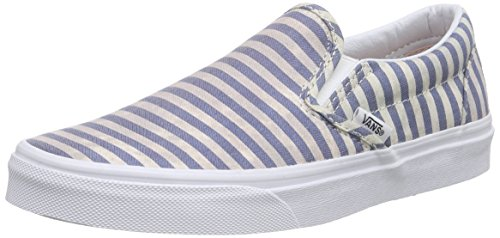 Vans stripes Multicolore Classic Chaussures navy Slip On gB4grq