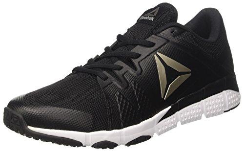 Collo wht A Reebok Nero blk Basso Trainflex nero Uomo Sneaker grey pewter a4nqtwB