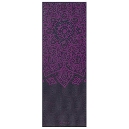 Gaiam Premium Print Yoga Mat, Extra Thick Non Slip Exercise & Fitness Mat for All Types of Yoga, Pilates & Floor Exercises