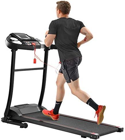 Merax Treadmill Folding Electric Treadmill Motorized Running Jogging Machine Easy Assembly Electric Treadmill