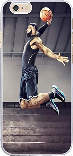 Fashion Sport Baseketball Player Shooting NBA Pattern Phone Cases for Apple iPhone 6