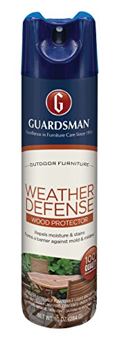 (Guardsman Weather Defense Outdoor Wood Furniture Protector - 10 oz - Repels Moisture and Stains -)
