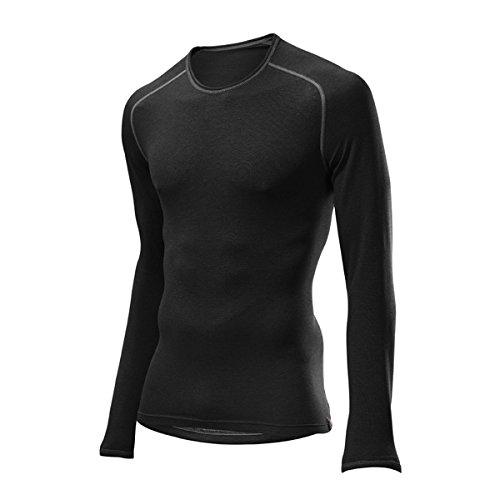 LÖFFLER Hr. Shirt Transtex Warm LA - schwarz
