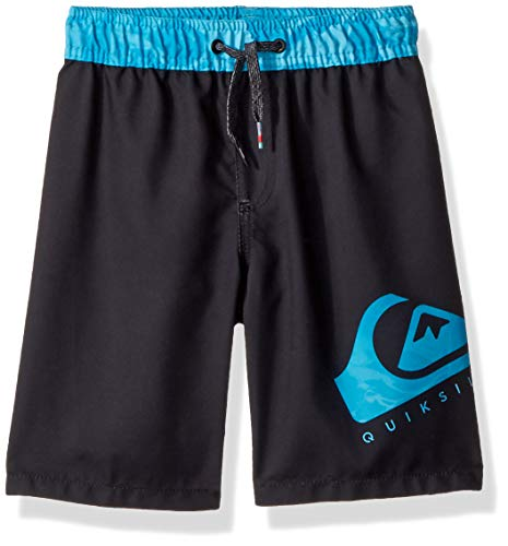 - Quiksilver Boys' Little' Lava Logo Volley Youth Short, Black, 3