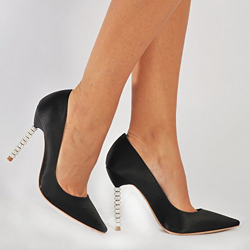 Crystal Coco Schwarz SOPHIA WEBSTER Pumps BRqxtFfF