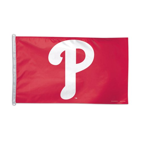 Philadelphia Phillies P Logo Baseball MLB Polyester Flag 3 x