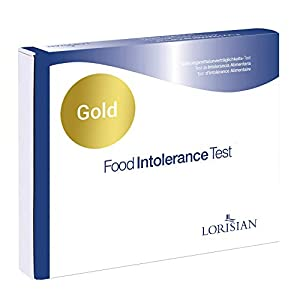 Premium Food Intolerance Test Kit for 208 Food and Drink Ingredients – Results in 10 Working Days – Home Sample Collection Kits from AffinityDNA and Lorisian