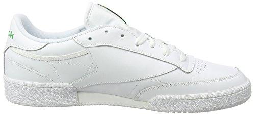 Fitnessschuhe Herren 85 Reebok White Green Int Weiß C Club 000 dOCdwIq