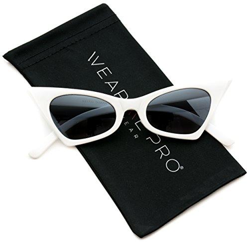 WearMe Pro - Retro Pointed Vintage Frame Design Tinted Women Cat Eye - Eye Sunglasses Buy Cat