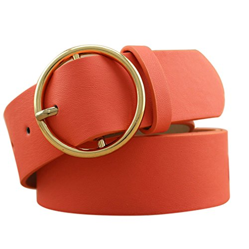 Fashion Gold Buckle Belts Female Leather Strap Belts Clothing Width Of Waist picture4
