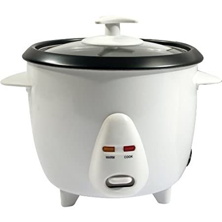 0.8L NON STICK AUTOMATIC ELECTRIC RICE COOKER POT WARMER WARM COOK 0.8 LITRE by BARGAINS-GALORE 0.8L RICE COOKER