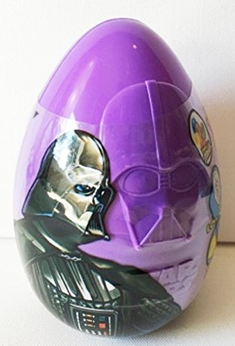 Star Wars Large Easter Eggs with Candy & Stickers ~ 3.2 oz ~ Darth -