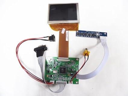 Amazon com: ELEOPTION PD035VX2 PVI LCD Panel VA Controller