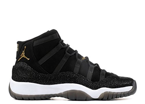 Nike Air Jordan 11 Retro Prem HC in Black Leather