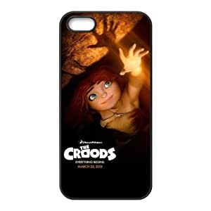 The Croods Pattern Design Solid Rubber Customized Cover Case for iPhone 4 4s 4s-linda659