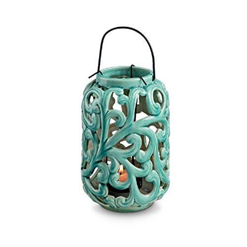 SPIhome Ceramic Vine Lantern - ()