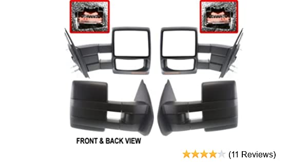 Mirror Power for 2007-2010 Ford F-150 Left & Right Heated W/Signal Light