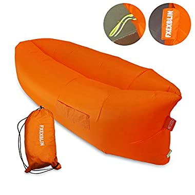 Fxexblin Sleeping Air Bag& Camp Bedding--Outdoor Indoor Waterproof Inflatable Lounger Air Sofa for Camping, Beach, Travelling, Park & Other Outdoor Gathering