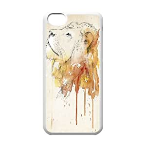 Powerful lions Case Cover Best For Iphone 5c KHR-U537887