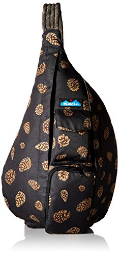 KAVU Women's Rope Sling Backpack, Pine Cones, One Size ()