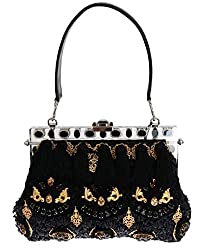 Tassel Gold Baroque Crystal VANDA Bag