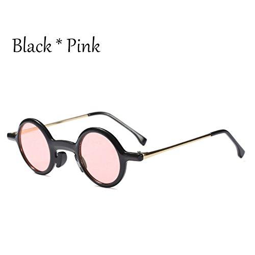 Pink Múltiples Gafas Mujer Pequeñas C6 De C3 Y Gris Sol TIANLIANG04 Sombras Redondas Uv400 Gafas G428 Pequeñas Gafas Black Señoras Blanco nqFCRSB