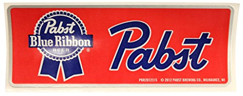 Pabst Blue Ribbon PBR Beer Red Sticker