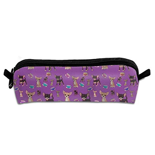(FRTSFLEE Cute Teacup Chihuahuas Beauty Pencil Bag Pencil Case Portable Stylish Pen Bag Multifunctional School Supplies for Watercolor Pens & Markers for Students & Artist)