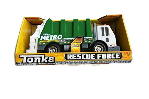Tonka Lights & Sound Rescue Force - Metro Sanitation Department Garbage Truck
