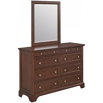 Amazon.com: Home Styles 5529-74 Chesapeake Cherry Dresser Mirror: Kitchen & Dining