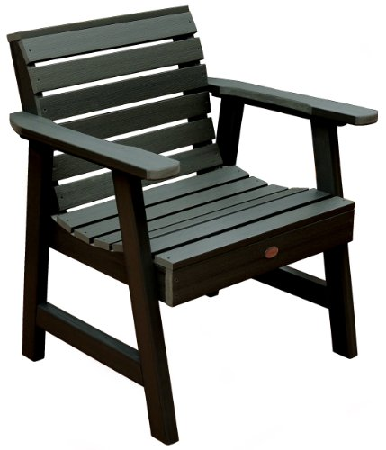 Highwood Weatherly Garden Chair, Charleston Green ()