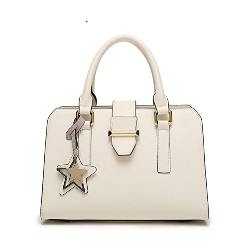 Bolsos Nuevo Crossbody Fashion Women Bolsos Top-Handle Bags Totes,Grey White