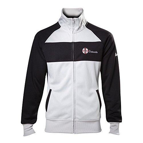 Capcom Resident Evil Men's Operative Track Jacket | XL | Black/White